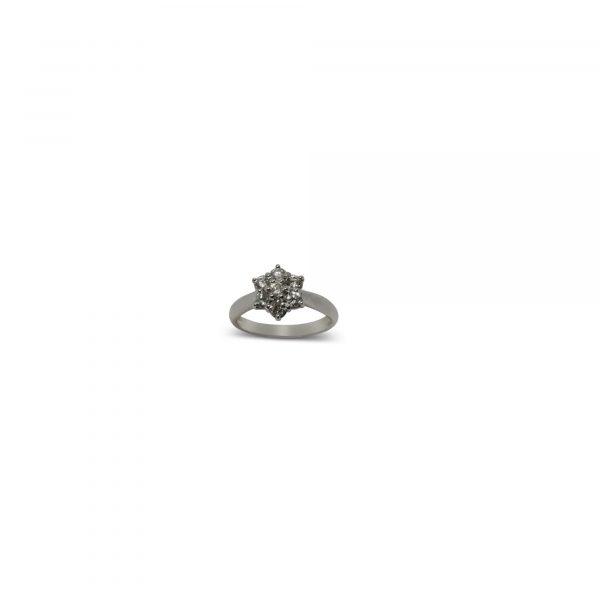 Cristiana Mariani Gioielli - Gioiello 19 - Anello con diamanti F Vs ct.0,75