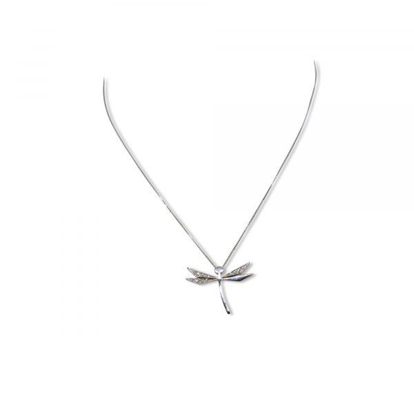 Cristiana Mariani Gioielli - Gioiello 33 - collana con libellula diamanti G Vs ct. 0,07